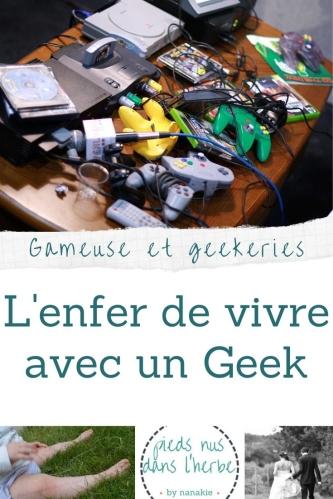 Article Vivre avec un geek