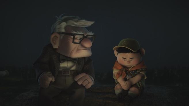 là-haut Carl et Russel