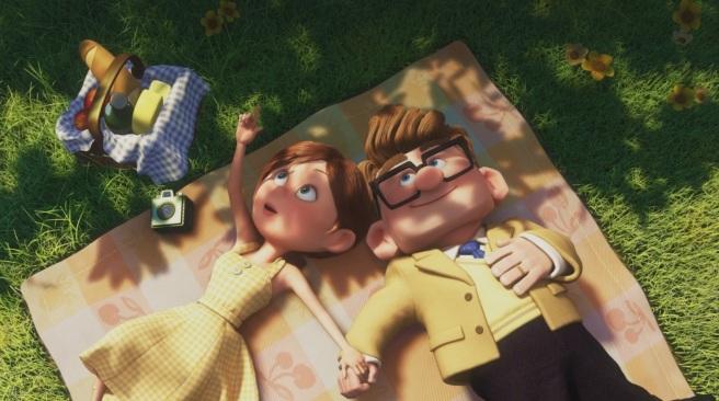 Là-haut Ellie et Carl