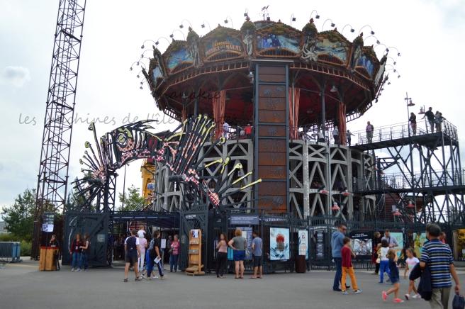 2015-08-23 Machines de l'île Carrousel Mondes Marins (1)