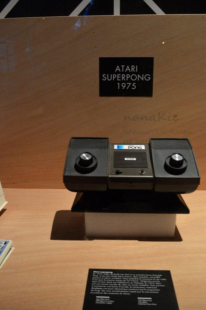 2015-08-30 Exposition Ultima Jeux vidéo LU Nantes Atari Superpong