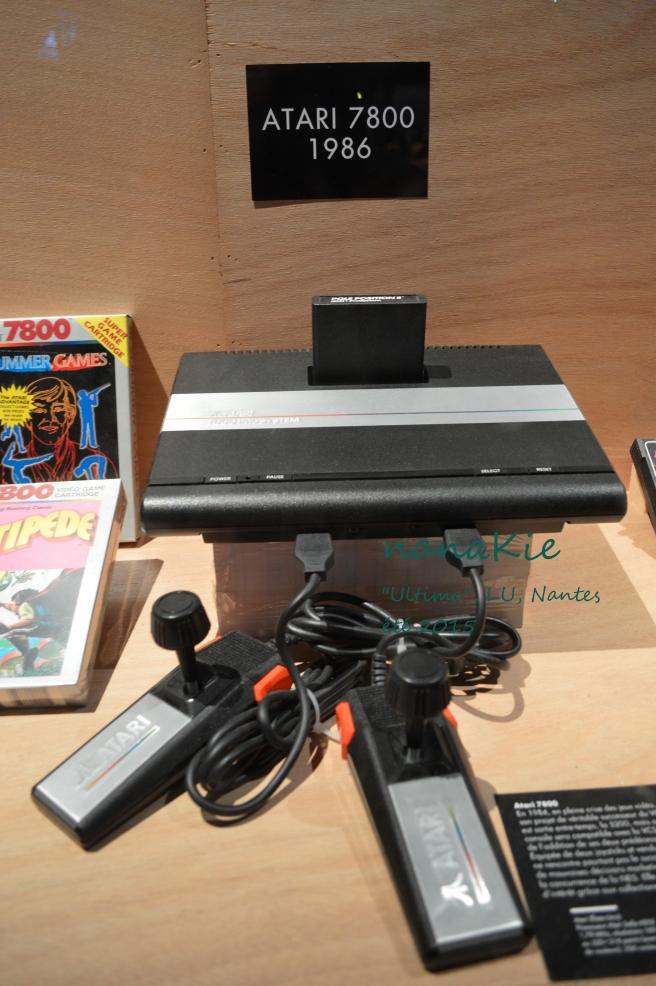 2015-08-30 Exposition Ultima Jeux vidéo LU Nantes Atari 7800