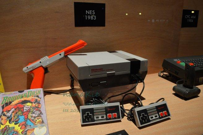 2015-08-30 Exposition Ultima Jeux vidéo LU Nantes NES