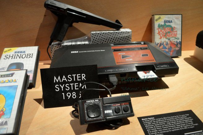 2015-08-30 Exposition Ultima Jeux vidéo LU Nantes Master System