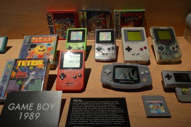 2015-08-30 Exposition Ultima Jeux vidéo LU Nantes Game Boy Nintendo