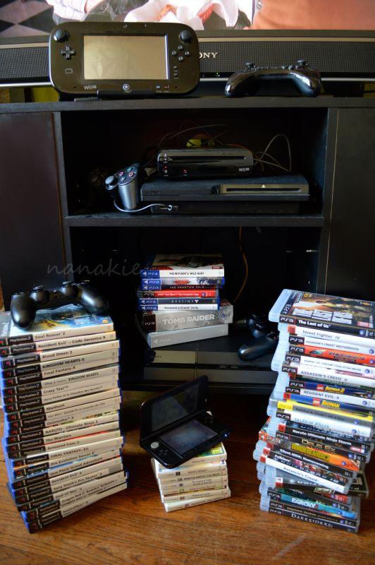 jeux video et consoles nanakie