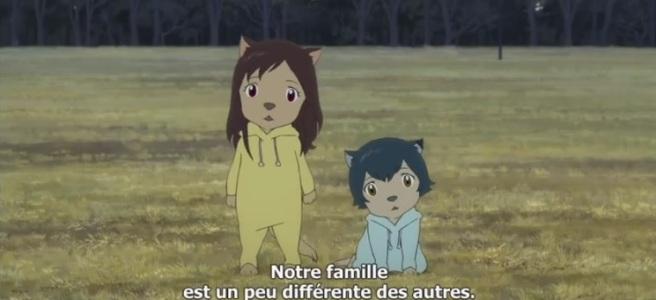 les enfants loup films animation japonnais