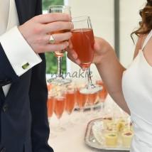 mariage verre vin d'honneur