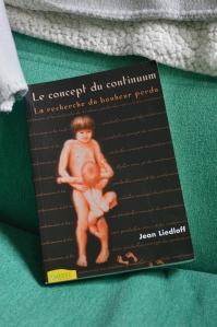 """Le concept de Continuum"" Jean Liedloff - Ambre editions"