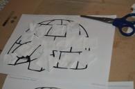 Activité collage sur igloo