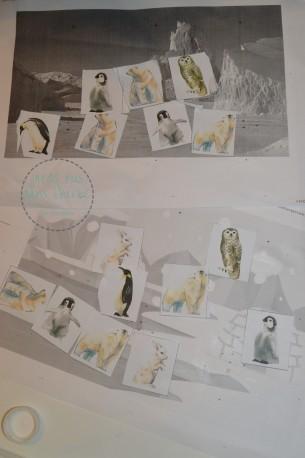 activité découpage et collage